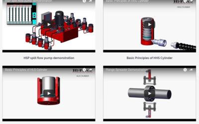 Hydraulics Video Portfolio